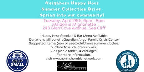 NSBN - Happy Hour Summer Collection Drive tickets
