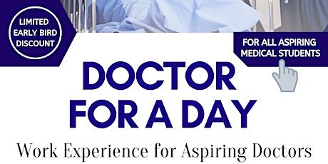 Doctor for a Day - An Experience for Aspiring Medics (Manchester) tickets