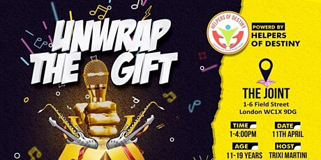 Unwrap The Gift- Open Mic Jam 11-19 tickets