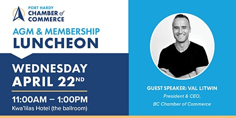 Annual General Meeting & Membership Luncheon tickets