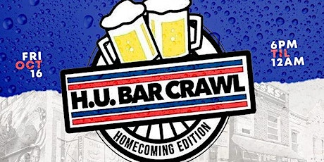4th Annual HU Bar Crawl (Howard Homecoming) tickets