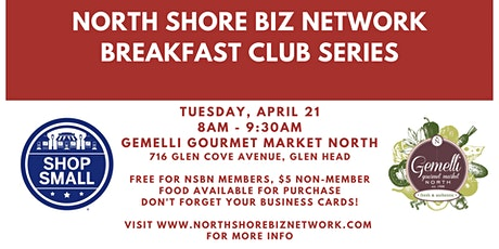 "NSBN ""The Breakfast Club"" Networking - April tickets"