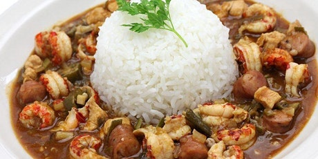 Cajun Night Cooking Class! Gumbo, Dirty Rice & Salmon Croquettes! tickets