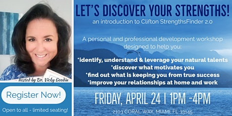 Let's Discover Your Strengths! tickets