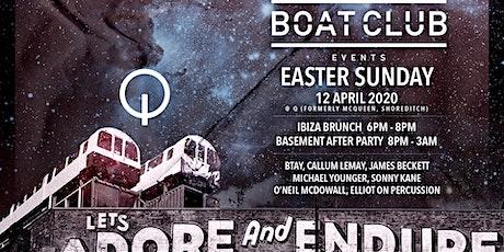 Boat Club Easter Sunday Brunch @ Q (McQueen, Shoreditch) tickets