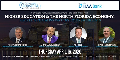 Higher Education and the North Florida Economy tickets