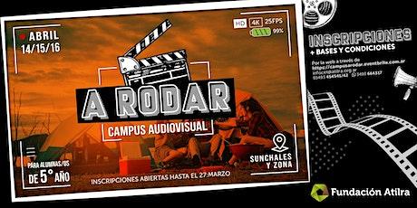 "Campus Audiovisual ""A RODAR""   CET Atilra entradas"