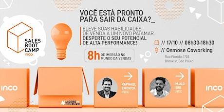 Sales Bootcamp - Sua imersão no mundo das Vendas ingressos