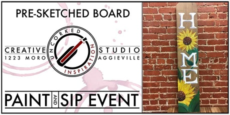 Paint & Sip | Sunflower Fence Post tickets