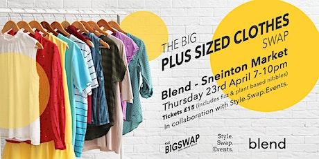 Plus Size Clothes Swap tickets