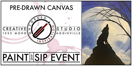Paint & Sip | Howl at the Moon tickets