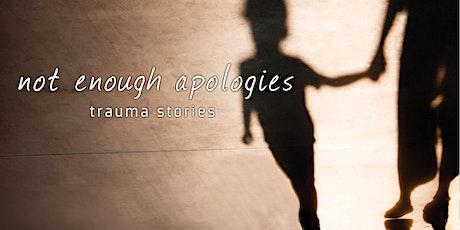 Not Enough Apologies Menasha Screening tickets