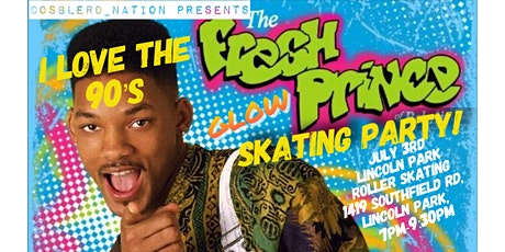 I Love The 90's Fresh Prince Glow Skating Party tickets
