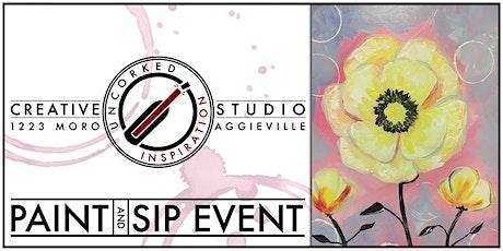 Paint & Sip | Pastel Poppy tickets
