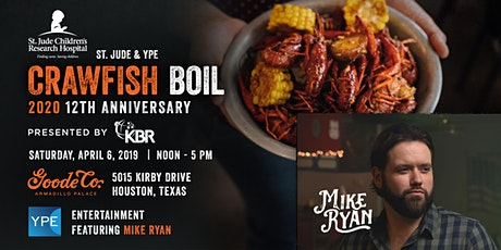 St. Jude & YPE Crawfish Boil w/ Mike Ryan tickets