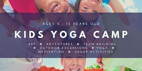 Kids Yoga Camp ~ For Kids 5 - 12 tickets