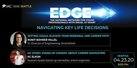 IAC EDGE YP Seattle- Navigating Key Life Decisions  - cancelled due to COVID19 tickets