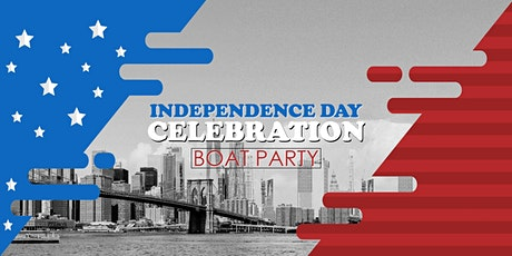 Independence Day Celebration NYC Boat Party Yacht Cruise: Friday Night tickets