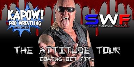 American Wrestling in Crawley (The Attitude tour) tickets