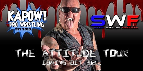 American Wrestling in Southampton (The attitude tour) tickets
