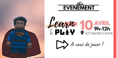 Learn & Play  : gamification de la formation professionnelle billets
