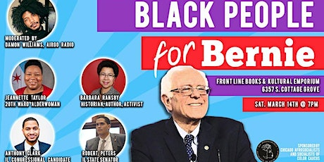 Black People for Bernie tickets