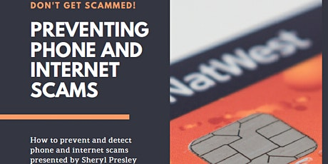 Preventing Phone and Internet Scams tickets
