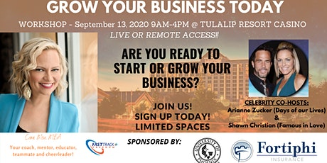 National Start or Grow Your Small Business Workshop tickets