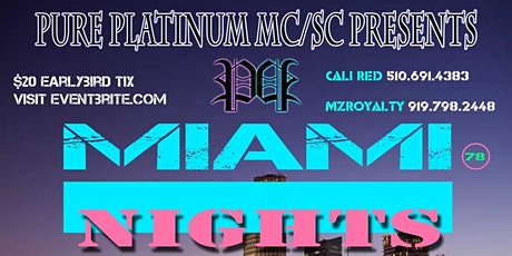 Pure Platinum MC/SC Miami Nights Glow Party Swimsuit Addtion tickets