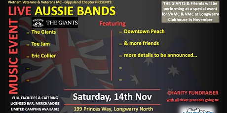 Special Music Event - Live Aussie Bands tickets