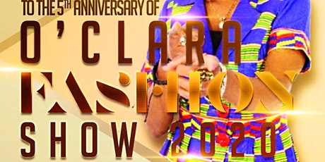 Oclara African Fashion Show 2020-The 5th Anniversary tickets