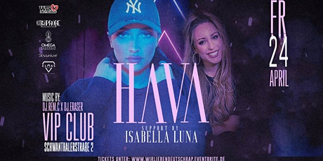 HAVA Live in München  verschoben tickets
