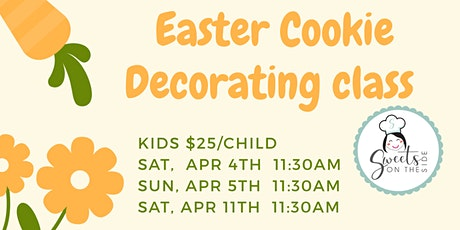 Easter Cookie Decorating Class (Kids) tickets