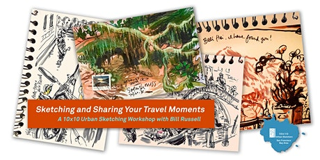 Sketching and Sharing Your Travel Moments tickets