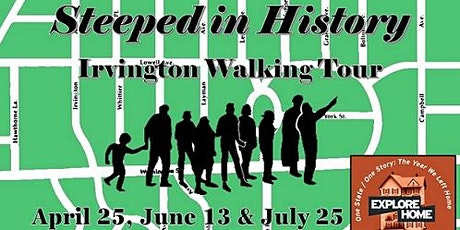 Steeped in History: Irvington Walking Tour tickets