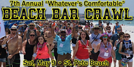Whatever's Comfortable Beach Bar Crawl 2020 tickets