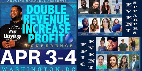 DRIP CONFERENCE  (DOUBLE REVENUE INCREASE PROFITS) tickets