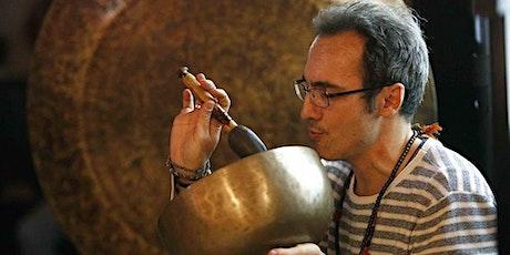 Concierto de Cuencos y Gongs en Madrid entradas