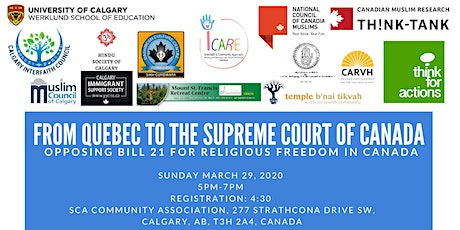 From Quebec to The Supreme Court of Canada tickets