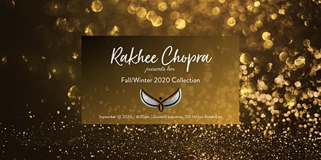 RCFW2020 Rakhee Chopra Fall/Winter 2020 collection tickets