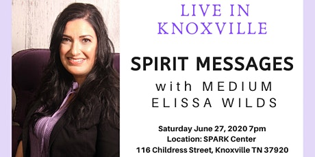 Live in Knoxville An Evening of Spirit Messages with Medium Elissa Wilds tickets