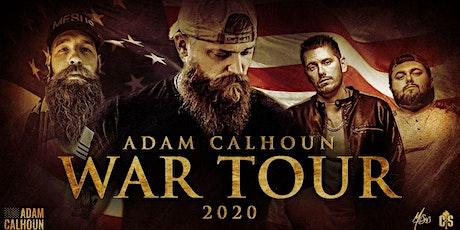 Adam Calhoun WAR TOUR  2020 tickets
