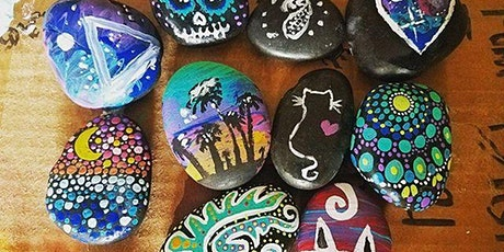 """Family Event """"Rock Painting"""" at Jack Rabbit Brewing with Creatively Carrie tickets"""