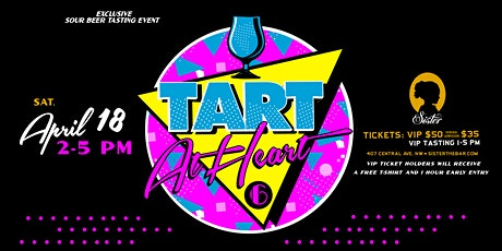 Tart at Heart 6 tickets