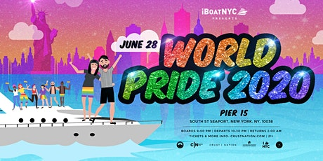 Worldpride Boat Party NYC Boat Party Yacht Cruise: Sunday Night tickets