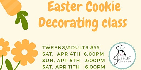 Easter Cookie Decorating Class (Adults) tickets