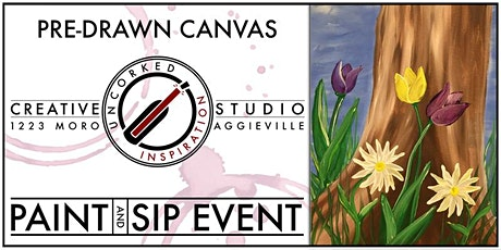 Paint & Sip | May Flowers tickets