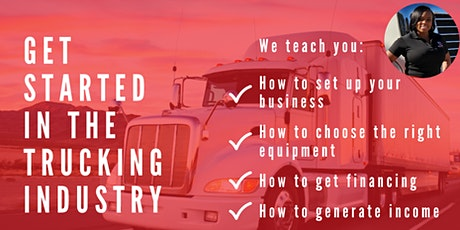 Get Started in the Trucking Industry WEBINAR tickets