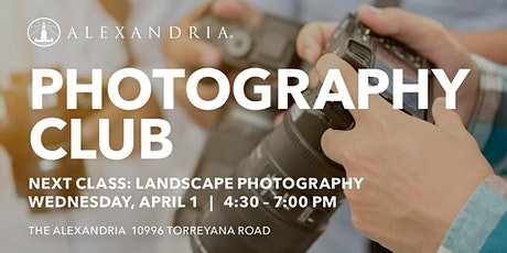 ARE Photography Club: Landscape Class tickets