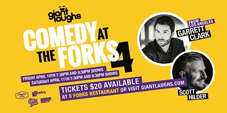 Copy of Giant Laughs 4 - Saturday tickets